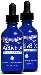 Active8 X Diet Drops Review