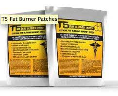 T5 fat burning patches