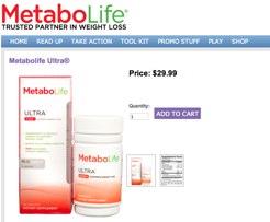 Metabolife Ultra Website