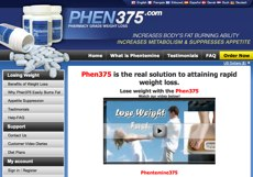Phen2375 UK Website