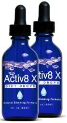 Active8 X Diet Drops Review