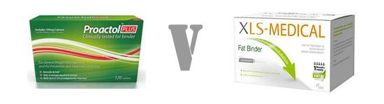 Proactol Plus Or XLS Medical Fat Binder