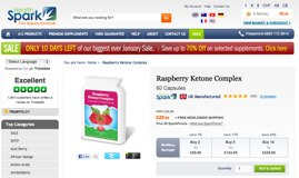 Raspberry Ketone Complex Website