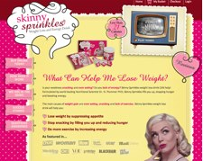 Skinny Sprinkles Website