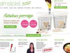 Slimsticks official website for UK and Ireland