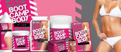 Boot Camp body Slimming products