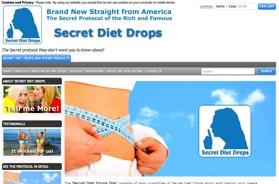 Secret Diet Drops Website
