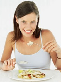 Woman on Fast Diet