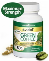 green coffee tablets with svetol