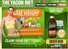 Official Yacon Diet website