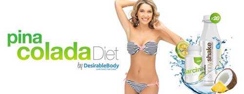 Pina Colad Diet Plan by Disirable Body