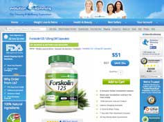 Forskolin 125 from Evolution Slimming