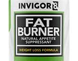 INVIGOR8 Fat Burner and Natural Appetite Suppressant